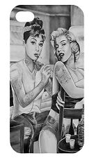 IPHONE 5S AND 5C AUDREY HEPBURN MARILYN MONROE TATTOO - HARD CASE COVER