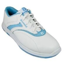 Brunswick Silk Blue White Womens Bowling Shoes Left or Right Handed