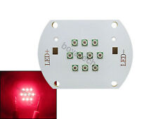 30W 60W High Power Led Light Red Color 660NM Epileds Chips Led Modules 22-25VDC