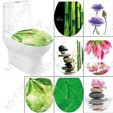 Fashionable Adhesive Decorative Removable Sticker Decal for Toilet Seat Cover