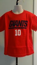 NWT NFL NY Giants Eli Manning Red Tee - Little Boy's Sizes 4-7
