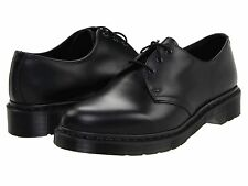 Men's Shoes Dr. Martens 1461 Mono 3 Eye Leather Oxfords 14345001 Black *New*
