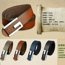 P-828 Fangle 2017 men's Genuine Leather Waist Stylish Fashion Belt Free P&P