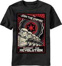 Star Wars Join The Empire Propaganda Poster Men's Black T-Shirt
