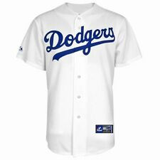 Majestic Los Angeles LA Dodgers Replica White Home Jersey Toddler Kids Youth