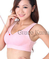 CHEAP!! 1pc Ladies Tank Tops Homwear Padded Sports Yoga Summer Bra No Wire Cup
