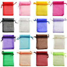 5x7cm Premium ORGANZA Wedding Favour GIFT BAGS Jewellery Pouches