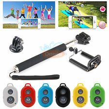 Bluetooth Selfie Remote Control Shutter+Monopod+Tripod Adapter for Android Phone