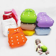 Adjustable Reusable Washable Baby Soft Cloth Diaper Nappy One Size Fit All