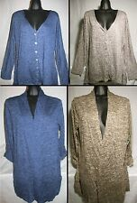 Women's Debbie Morgan Cardigan Sweater Lightweight Open or Button Macy's