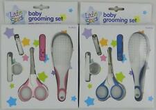 Baby Grooming Set  / GILRS & BOYS - Nail Clippers - Safety Scissors & Brush