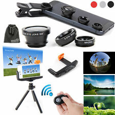 EEEKit 5in1 Kit for iPhone 6/5S/5C/4S Bluetooth Remote Control+Tripod Mount+Lens