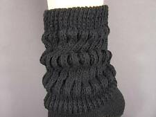 Thick slouch slouchy cotton scrunched womens ladies boot socks 9-11 hooters