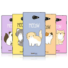 HEAD CASE DESIGNS KITTY CATS CASE COVER FOR SONY XPERIA M2