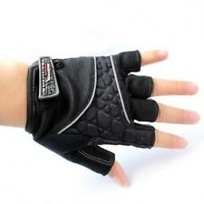 New Black Cycling Bike Bicycle GEL GEL Shockproof Sports Half Finger Gloves M-XL