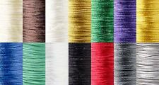 1mm Thick Bugtail Satin Beading Cord String Cording For Beads Sold per 3 Yards