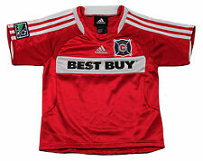 Adidas MLS Soccer Toddlers Chicago Fire BRIAN McBRIDE # 20 Home Replica Jersey