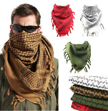 4 Colors MFR Arab Shemagh Kaffiyeh Turban Palestine Wrap Scarf Shawl Military