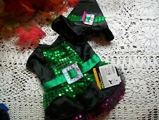 WITCH SEQUINS Dog Costume Halloween new puppy pet Petco XS S M L  holiday photo