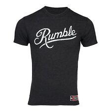 Jaco TCC Rumble T-Shirt (Heather Black) - mma boxing fitness