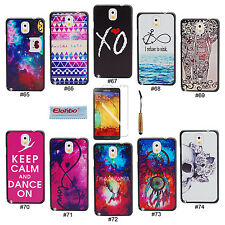 Unique Pattern Hard Back Case Cover Skin For Samsung Galaxy Note 3 III N9000