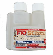 F10SC 100ml/200ml Super Concentrate Disinfectant Birds Reptiles Cages Cleaner
