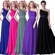 Store Promotion!! Evening Party Ball Gown Prom NEW Bridesmaid Long Chiffon Dress