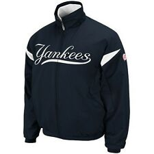 NWT Authentic New York Yankees Majestic Therma Base Full Zip Premier Jacket $165
