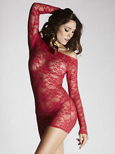 Ann Summers Womens Britney Red Lace Dress Red Sexy Bodycon Lingerie Underwear