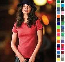 ANVIL Adult Woman's Lightweight Cotton Tee T-Shirt Small-2XL-35 COLORS-880-New!!