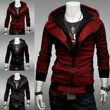 Hot Assassin's Creed 3 Desmond Miles Hoodie Costume Jacket Coat Cosplay Sweater