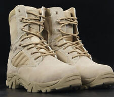 Customs Made Mens Ancient High Top Cowboy Ridding Militery Combat Ankle Boots