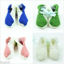 Crochet baby booties shoe knitting shoes for baby girls/boys 0-6 M (buy 1 get 1)