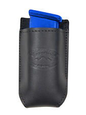 NEW Barsony Black Leather Single Mag Pouch FEG Makarov 380 & Ultra Compact 9mm