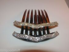 1 New Gorgeous Hair Comb with Shinny Swarovski Crystals Hair Jewelry Accessories