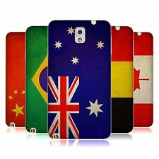 HEAD CASE VINTAGE FLAGS SET 1 TPU GEL BACK CASE FOR SAMSUNG GALAXY NOTE 3 N9005
