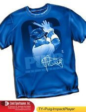 Yasil Puig Los Angeles Dodgers Star Brand New Impact Shirt