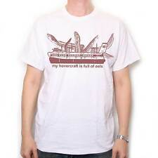 INSPIRED BY MONTY PYTHON T SHIRT - MY HOVERCRAFT IS FULL OF EELS CULT TV COMEDY!