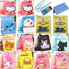 3D Cartoon Kitty Melody Stitch Chi's Silicone ID/Credit Card Holder with Lanyard