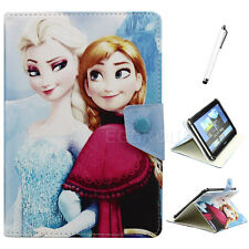 "Frozen Disney Elsa & Anna PU Leather Case Cover for 9.7 10 10.1"" inch Tablet PC"