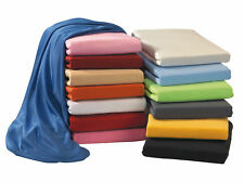 Jersey Fitted Sheet Spann Bed Cloths 90/100 X 200