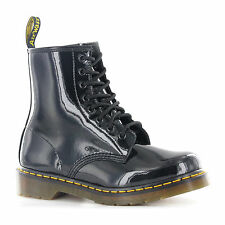 Dr.Martens 1460 Patent Black Womens Boots