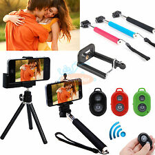 Handheld Bluetooth Selfie Stick Monopod Extendable For Samsung Galaxy Note 4 New