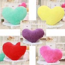 Soft Love Heart Family Bedroom Car Fluffy Throw Cushions Pillows Pad Block Gift
