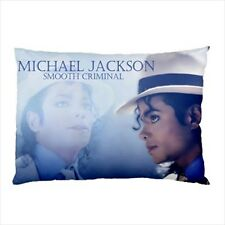 Michael Jackson Bad & Smooth Criminal Collectible Photos Pillow Case