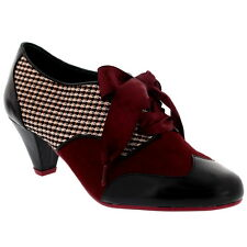 Womens Poetic Licence End Of Story Mid Heel Work Office Party Laced Shoes UK 3-8