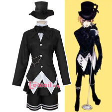 Unsex Black Butler band Kuroshitsuji Drocell Caines Cosplay costume customize