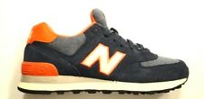 New Balance women's Wl574PBL ~ classic 574 runner ~Navy/Orange