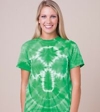 200NV Shamrock Tie Dye Short Sleeve Tee Dyenomite T-Shirt New!!