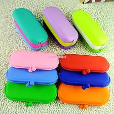 Fashion Multiuse Silicone Key Coin Pouch Change Purse Wallet Phone Makeup Bag
